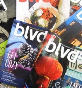 Boulevard magazine covers